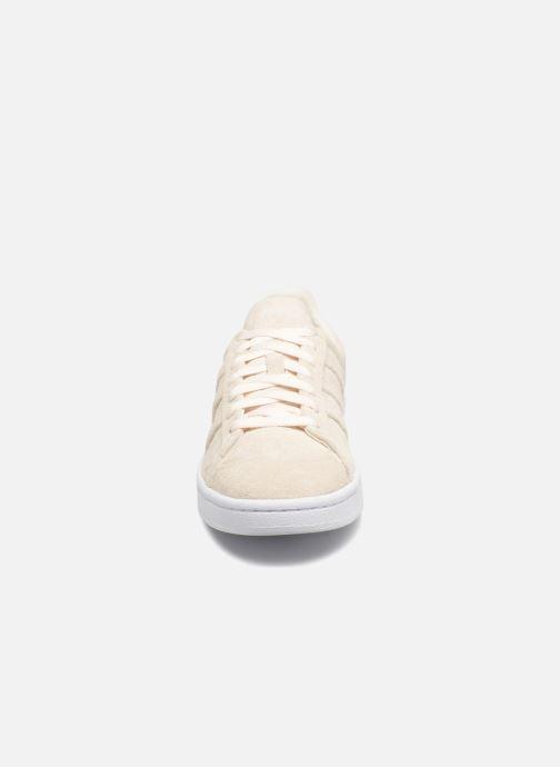 Sneaker Adidas Originals Campus Stitch And Turn weiß schuhe getragen