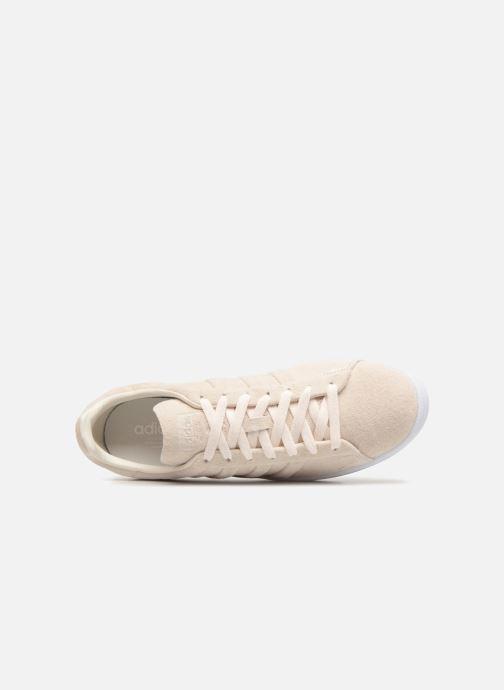 Sneaker adidas originals Campus Stitch And Turn weiß ansicht von links