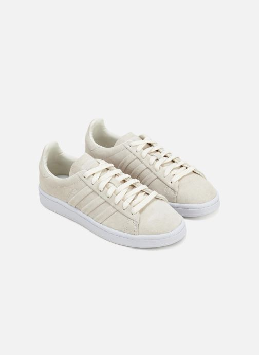 Trainers Adidas Originals Campus Stitch And Turn Beige front view