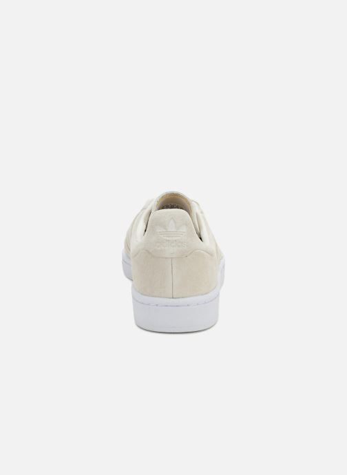 Trainers Adidas Originals Campus Stitch And Turn Beige view from the right