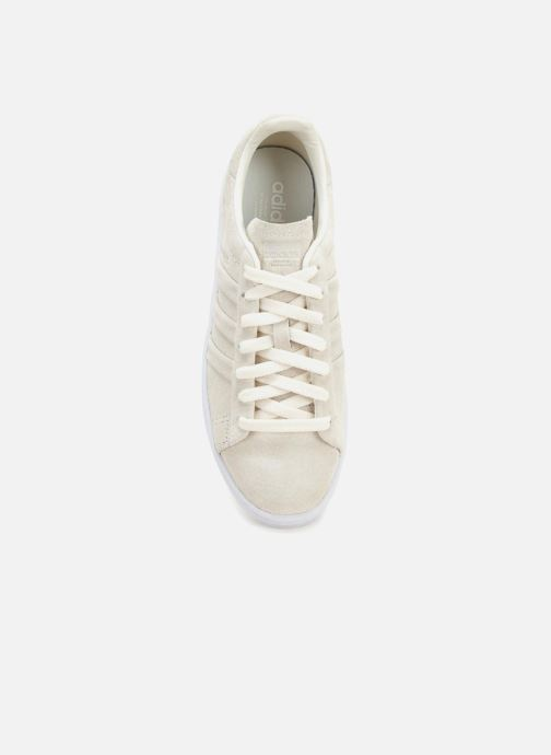 Trainers Adidas Originals Campus Stitch And Turn Beige view from the left