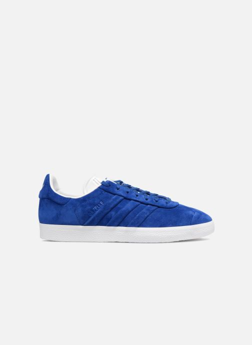 Trainers Adidas Originals Gazelle Stitch And Turn Blue back view