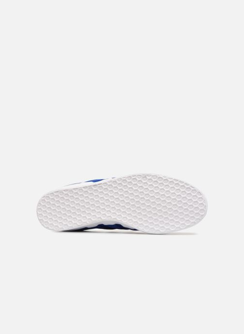 Trainers adidas originals Gazelle Stitch And Turn Blue view from above