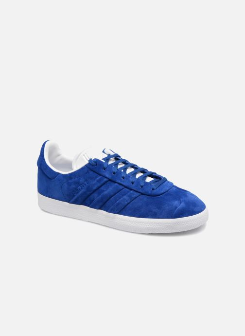 Trainers adidas originals Gazelle Stitch And Turn Blue detailed view/ Pair view