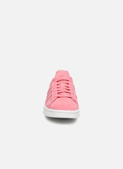 online store 2993a 29cb6 Baskets adidas originals Campus Stitch And Turn Rose vue portées chaussures