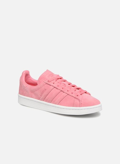 b1a5efa70b4 Sneakers adidas originals Campus Stitch And Turn Pink detaljeret billede af  skoene