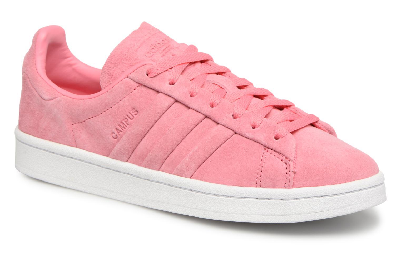 buy popular 0a23f a8b93 Baskets Adidas Originals Campus Stitch And Turn Rose vue détailpaire