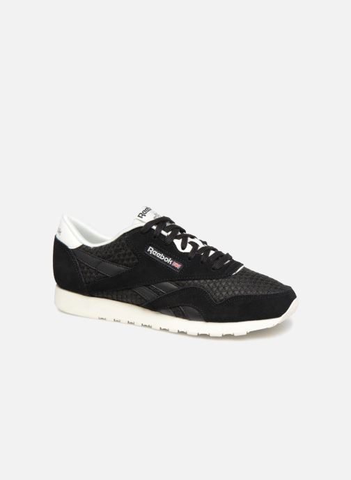 Reebok Classic Nylon Mesh (Black) - Trainers chez Sarenza (343640) b95194440e1f