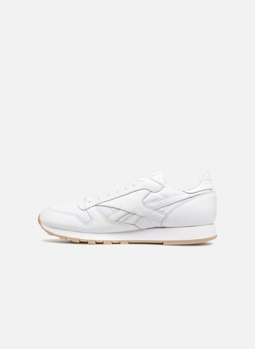 Baskets Reebok Classic Leather MU Blanc vue face