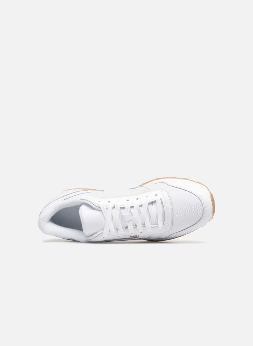 Baskets Reebok Classic Leather MU Blanc vue gauche