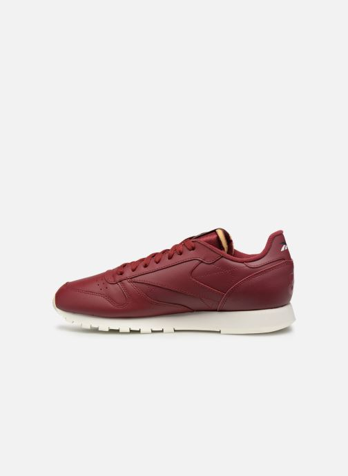 Trainers Reebok Classic Leather MU Burgundy front view