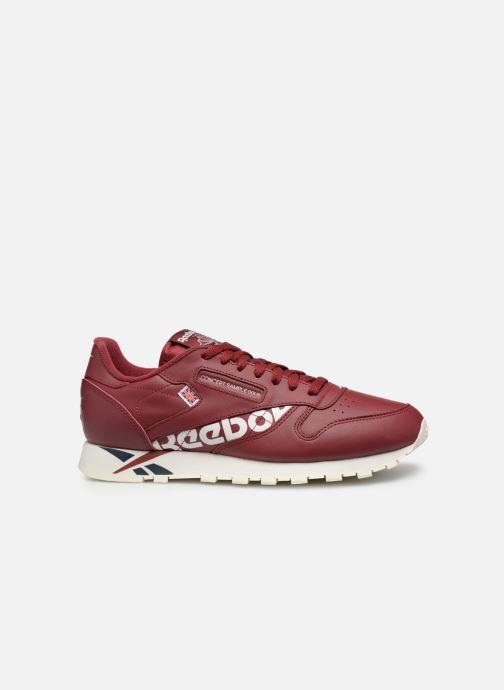 Sneakers Reebok Classic Leather MU Bordeaux achterkant