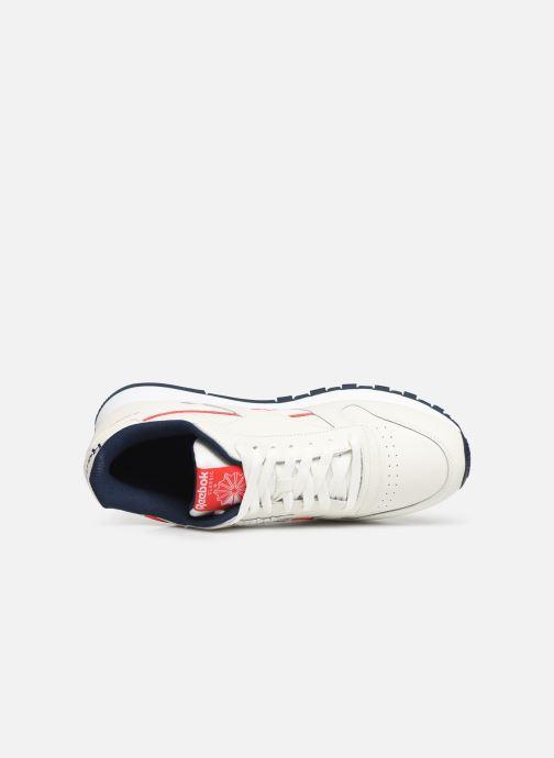 Baskets Reebok Classic Leather MU Blanc vue gauche