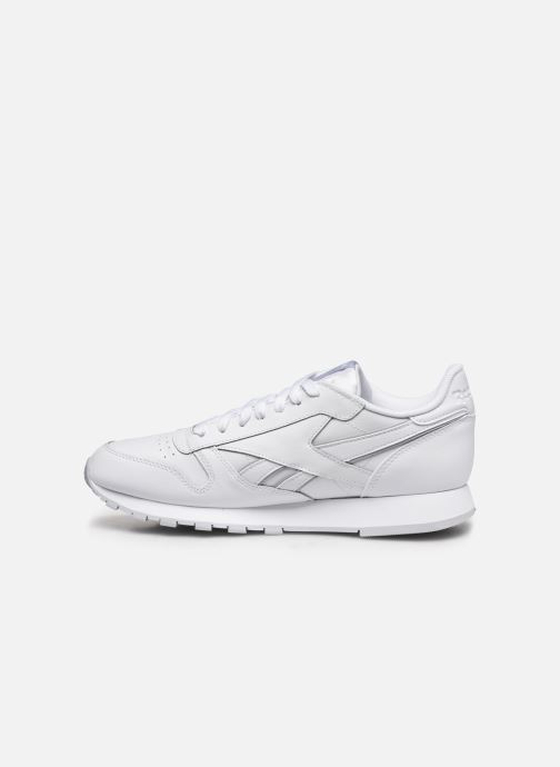 Deportivas Reebok Classic Leather MU Blanco vista de frente