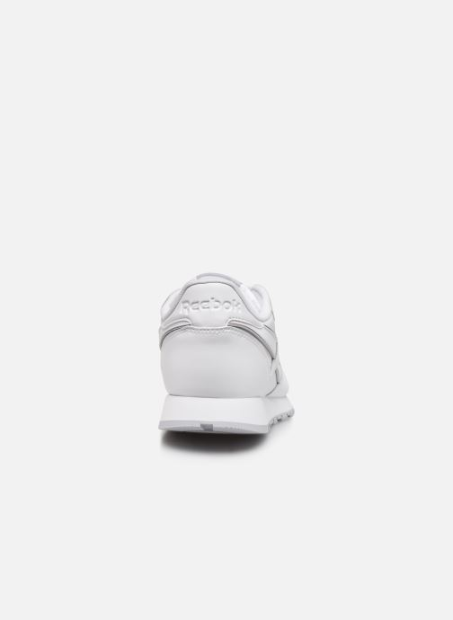 Deportivas Reebok Classic Leather MU Blanco vista lateral derecha