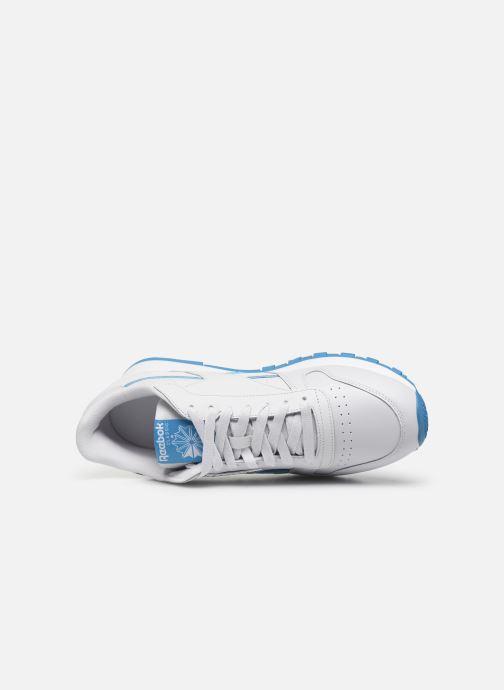 Sneakers Reebok Classic Leather MU Bianco immagine sinistra