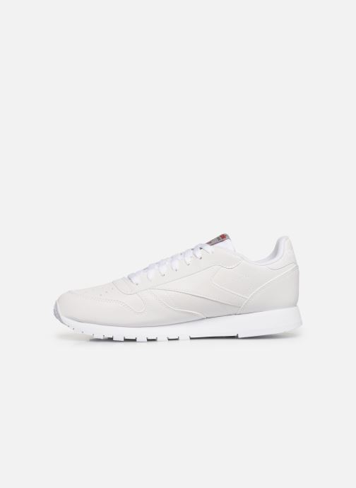 Sneaker Reebok Classic Leather MU weiß ansicht von vorne
