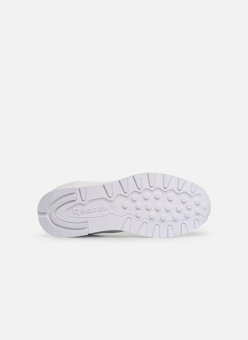 Baskets Reebok Classic Leather MU Blanc vue haut