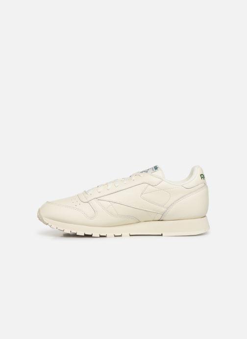 Sneakers Reebok Classic Leather MU Bianco immagine frontale