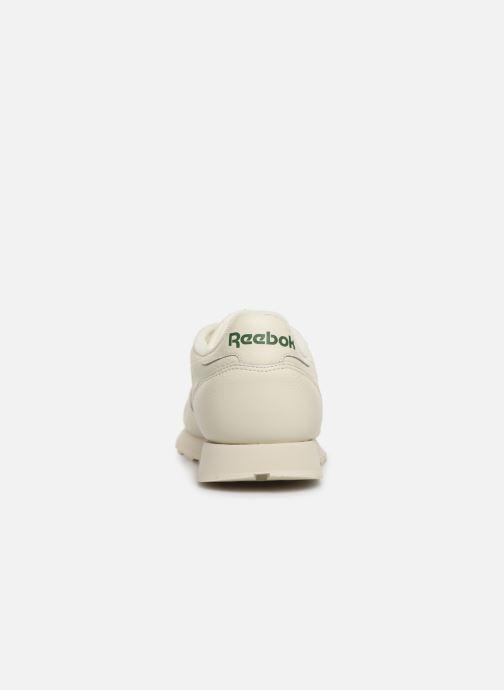 Deportivas Reebok Classic Leather MU Blanco vista lateral derecha