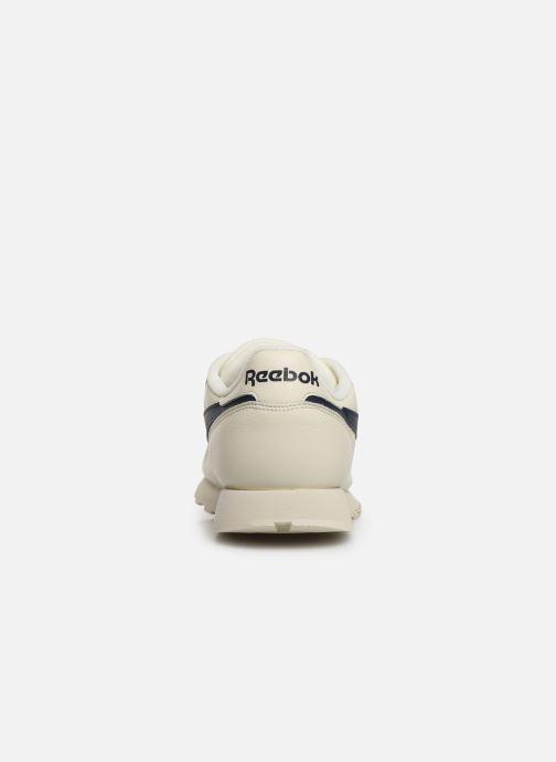Baskets Reebok Classic Leather MU Blanc vue droite