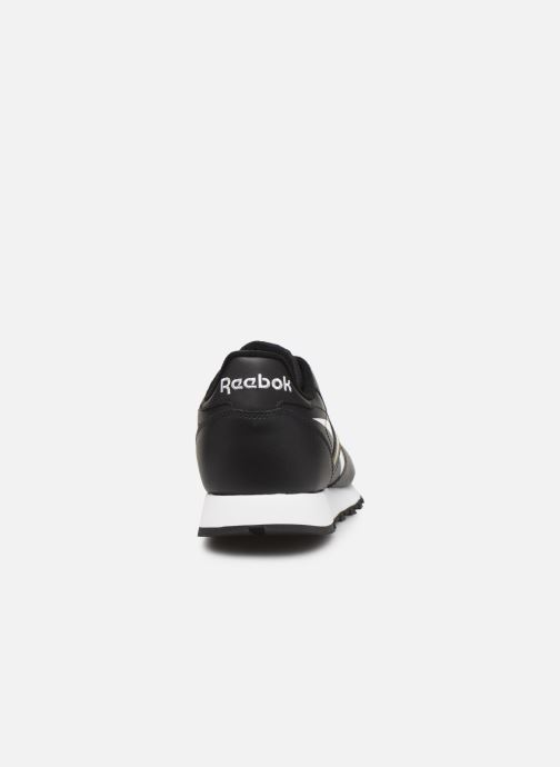 Deportivas Reebok Classic Leather MU Negro vista lateral derecha