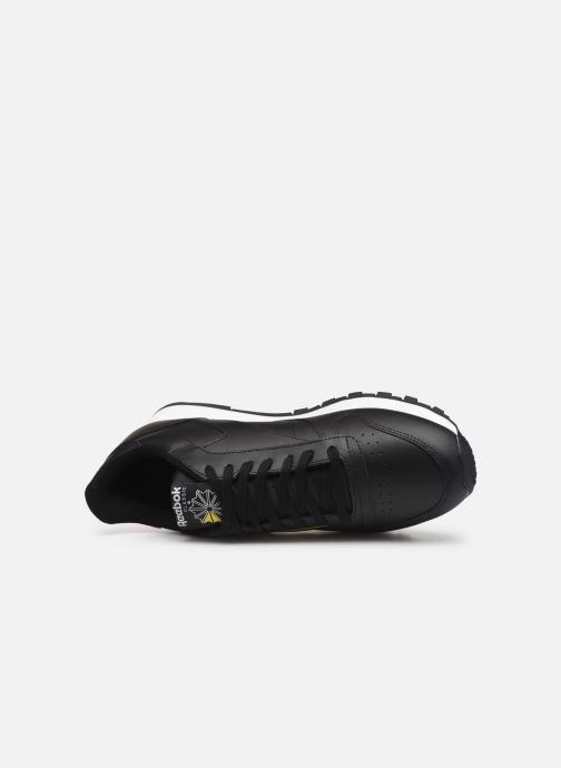 Deportivas Reebok Classic Leather MU Negro vista lateral izquierda
