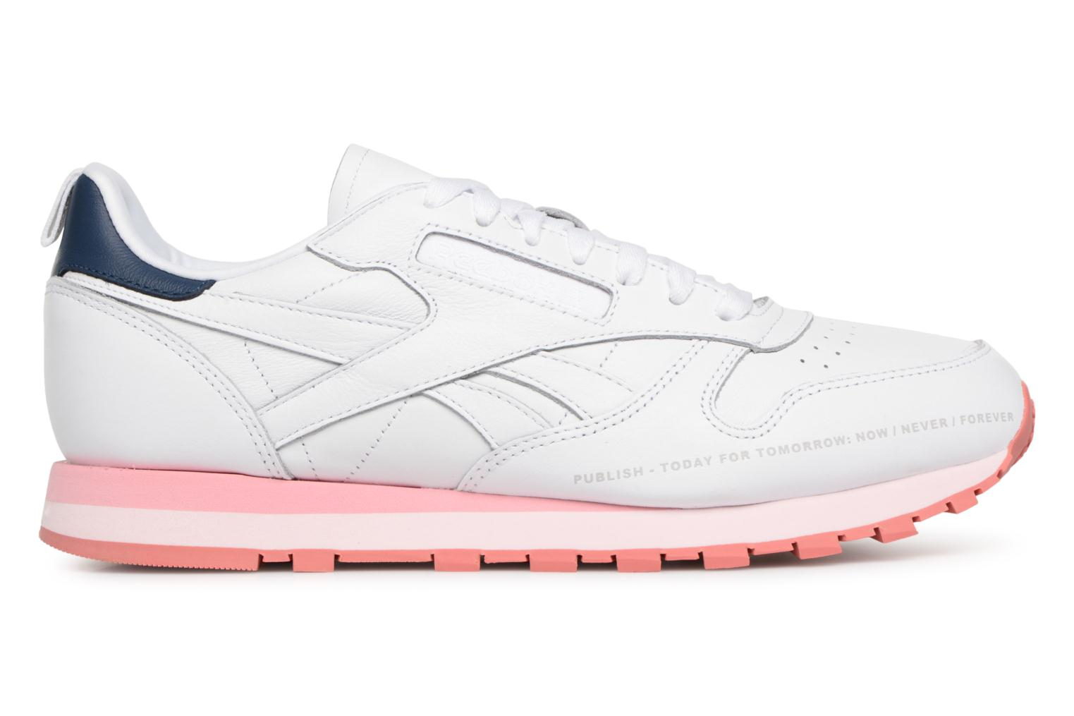 Baskets Reebok Classic Leather Publish Multicolore vue derrière