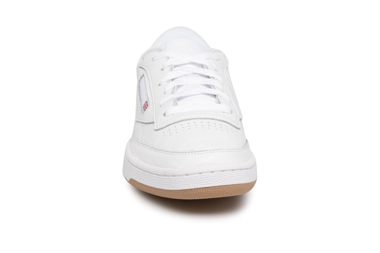 Sneaker Reebok Club C 85 Estl M weiß schuhe getragen