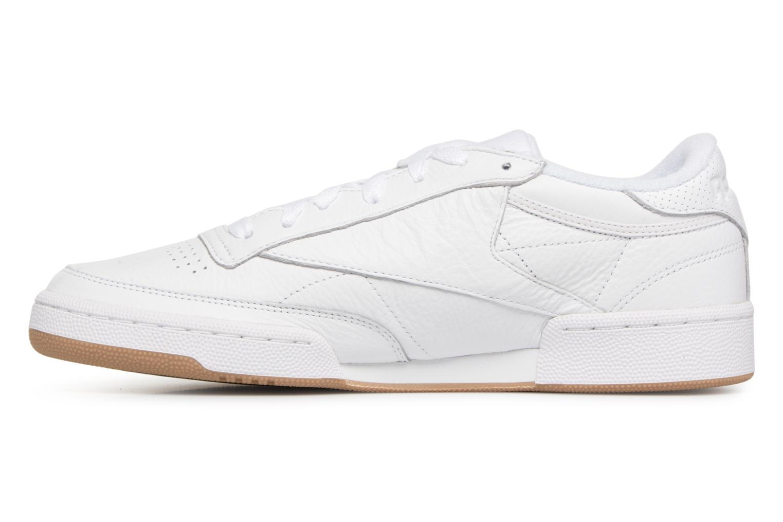 Sneaker Reebok Club C 85 Estl M weiß ansicht von vorne