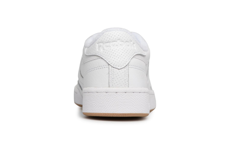 Sneaker Reebok Club C 85 Estl M weiß ansicht von rechts