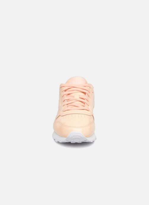 Trainers Reebok Classic Leather Patent Beige model view