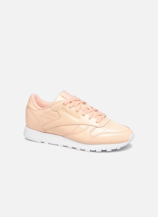 Trainers Reebok Classic Leather Patent Beige detailed view/ Pair view