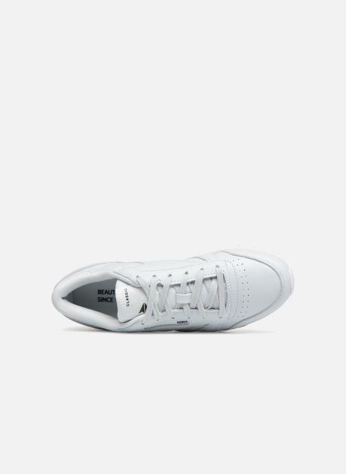 Reebok Classic Leather X Face Stockholm (blau) Sneaker bei