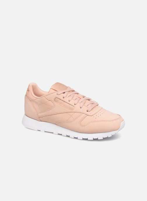 6d0963ea487e Trainers Reebok Classic Leather Nude Nubuck Pink detailed view  Pair view