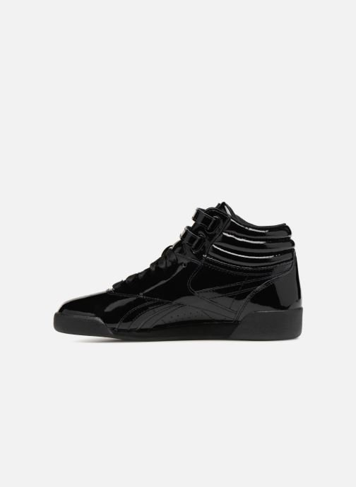dcf07d6f00cfd Reebok Freestyle Hi Patent Leather (Black) - Trainers chez Sarenza ...