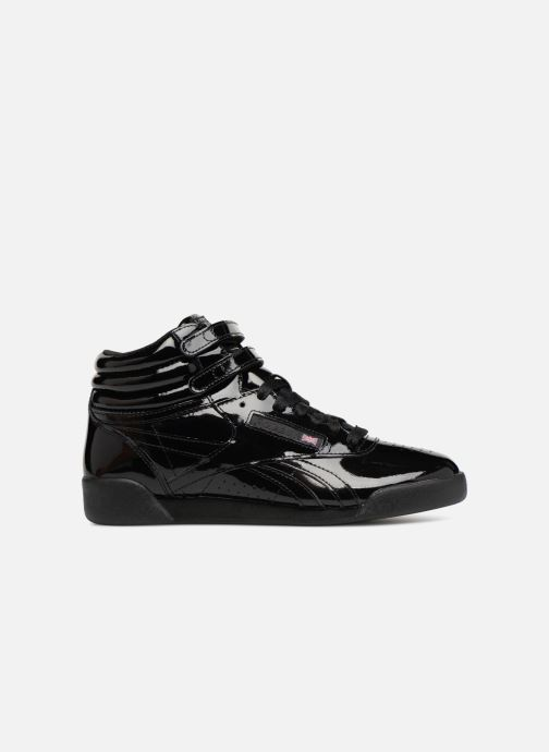 ab560fe0cace Reebok Freestyle Hi Patent Leather (Black) - Trainers chez Sarenza ...