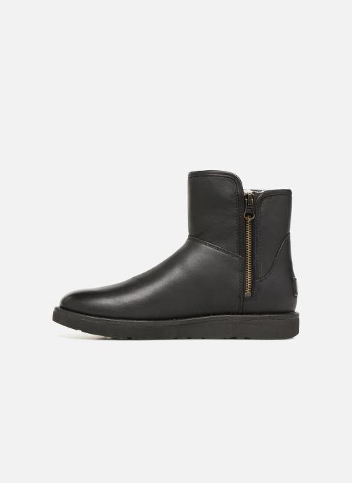 Botines  UGG W Abree Mini Leather Negro vista de frente