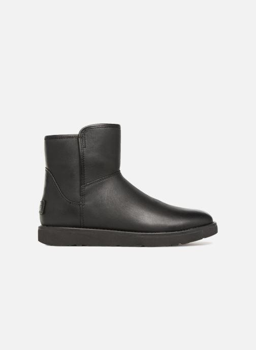 Botines  UGG W Abree Mini Leather Negro vistra trasera