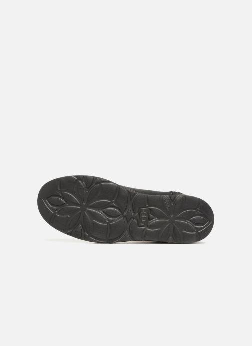 Botines  UGG W Abree Mini Leather Negro vista de arriba