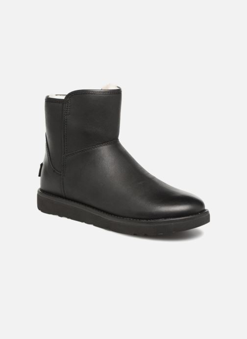 Botines  UGG W Abree Mini Leather Negro vista de detalle / par