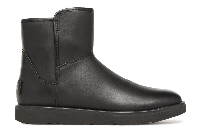 Bottes UGG W Abree Mini Leather Noir vue derrière