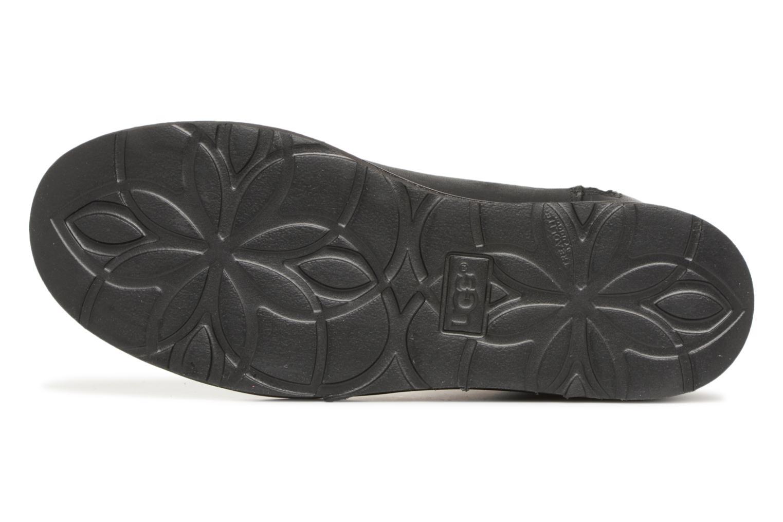 Bottes UGG W Abree Mini Leather Noir vue haut