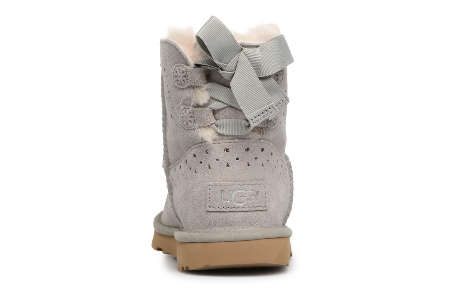 Bottes UGG Dae Sunshine Perf Gris vue droite