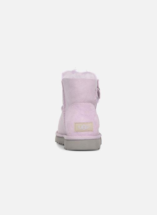 Bailey Ugg Button Poppy Et Mini Bottines Lavender Fog Boots K1JclFT