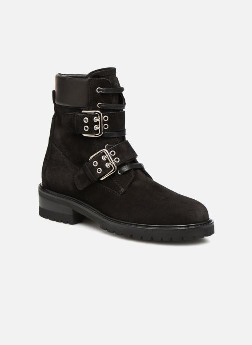 Ankle boots Notabene Tundra Black detailed view/ Pair view