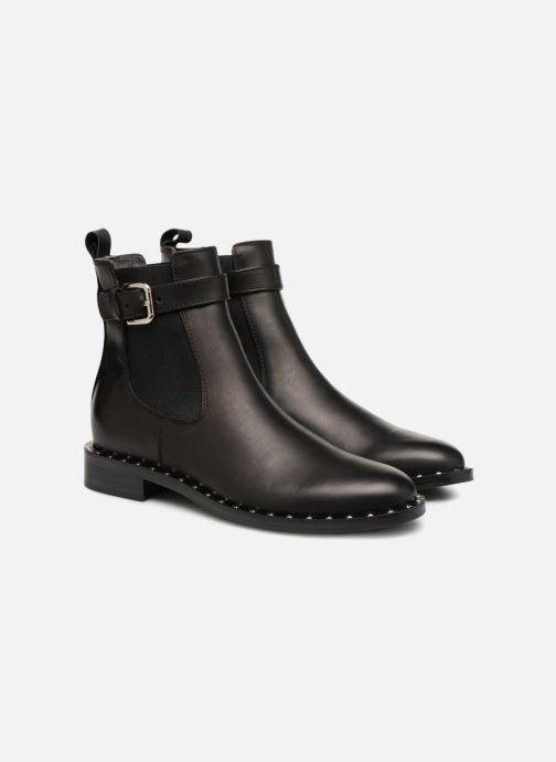 Bottines et boots Notabene ATHOL Noir vue 3/4