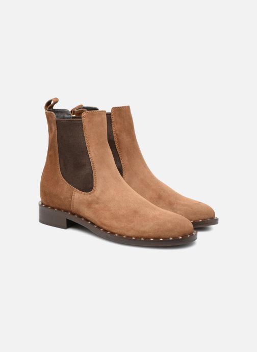 Bottines et boots Notabene LEAH Marron vue 3/4