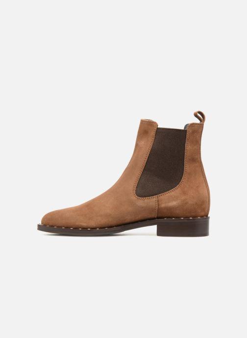 Boots en enkellaarsjes Notabene LEAH Bruin voorkant