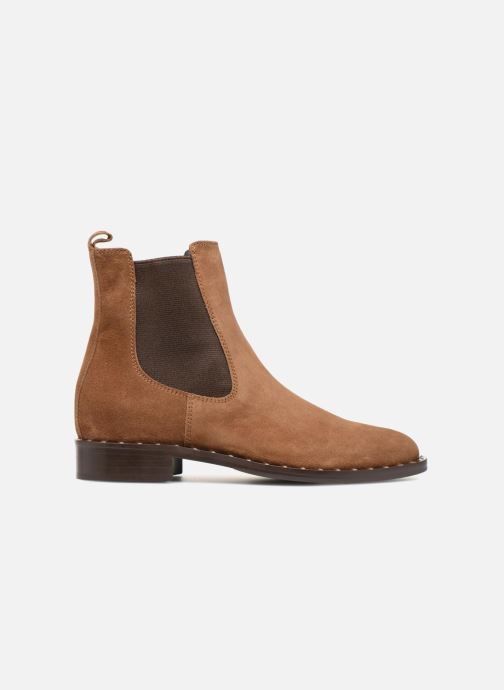 Boots en enkellaarsjes Notabene LEAH Bruin achterkant